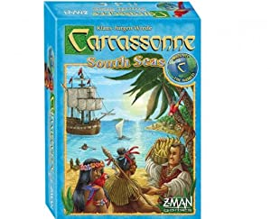 Carcassonne South Seas Board Game
