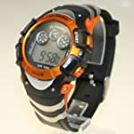 ORANGE SPORTS WRIST WATCH WATERPROOF...