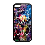 Famous rock band coldplay Mylo Xyloto logo Iphone 5c TPU case