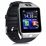GZDL Bluetooth Smart Watch DZ09 Smartwatch GSM SIM Card With Camera For Android IOS Silver