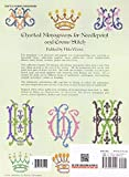 Download Charted Monograms for Needlepoint and Cross-Stitch (Dover Embroidery, Needlepoint)