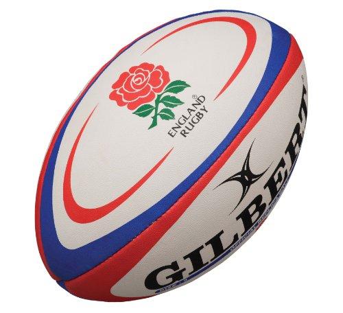 Gilbert England Rugby Replica Ball - Midi