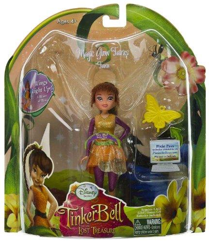 Buy Low Price Jakks Pacific Fawn 4.5″ Mini-Figure: Magic Glow Fairies – Disney Fairies TinkerBell the Lost Treasure Series (B0051D3I2I)