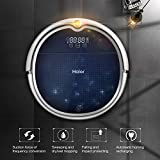 Haier Robot Vacuum Cleaner Floor Cleaner with Self Charging and Wet Mop with Remote Control Blue