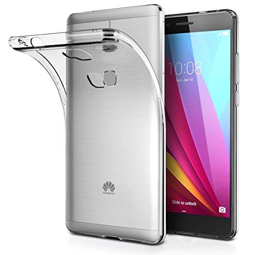 Huawei GR5 ケース BLOVS Huawei GR5 クリア ソフト シリコン TPU ケース 耐衝撃 落下防止 保護カバー Huawei GR5 対応 5.5型ワイド