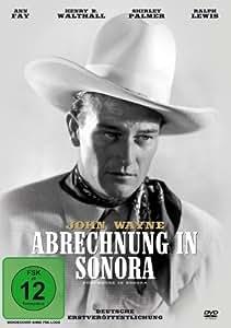 JOHN WAYNE - Abrechnung In Sonora