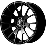 "Motegi Racing MR118 Matte Black Wheel (18x8""/5x114.3mm, +45mm offset)"