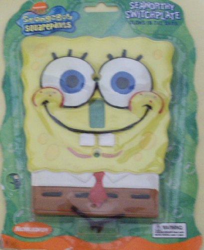 SpongeBob Squarepants Seaworthy Switchplate (Large) - 1