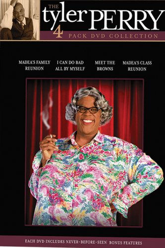 The Tyler Perry 4-Play DVD Collection (I Can Do Bad All By Myself / Madea's Class Reunion / Meet the Browns / Madea's Family Reunion)