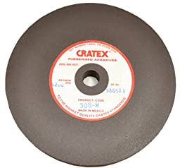 Cratex Rubberized Abrasives Wheels 2X1/8X1/4 Fine