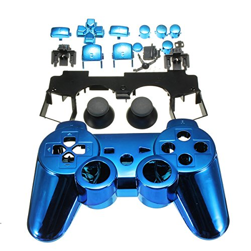 Blue Skin Protective Multicolor Cover For Sony Ps2 Ps3 Controller New