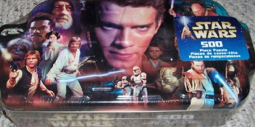 Cheap Hasbro STAR WARS COLLECTIBLE HEROES 500 PC PUZZLE IN COLLECTOR'S TIN (B002AUNTLA)
