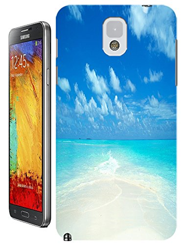Cell Phone Case Beach Design Beautiful Sunshine Water Trees For Samsung Galaxy Note 3 No.5