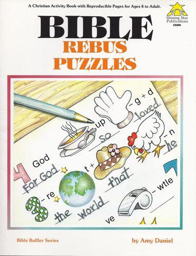 Bible Rebus Puzzles: Amy Daniel: 9780866534222: Amazon.com: Books