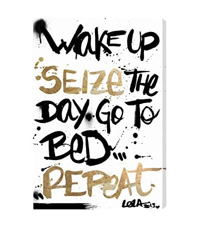 Oliver Gal Seize The Day Canvas Art