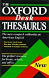 The Oxford Desk Thesaurus (0195099605) by Urdang, Laurence
