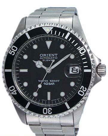 Orient Men's 2ER00001B Automatic Diver Stainless Steel Watch
