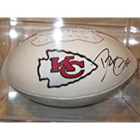 Dwayne Bowe Kansas City Chiefs Signed Autographed Logo Football Authentic Certified Coa