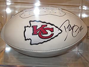 Dwayne Bowe Kansas City Chiefs Signed Autographed Logo Football Authentic Certified...