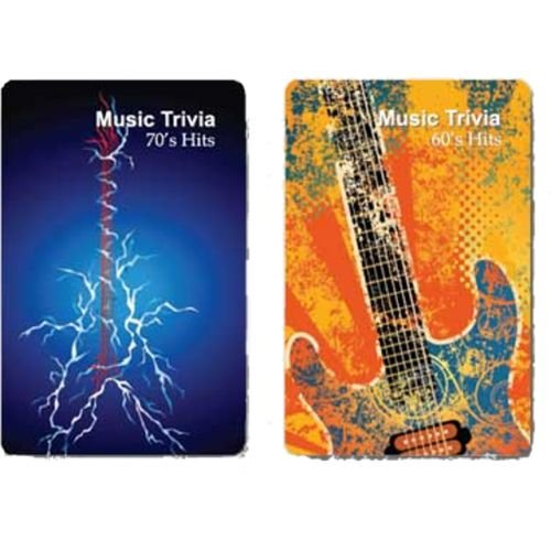 Finders Forum Playing Cards - Music : Hit Singles Trivia - 1