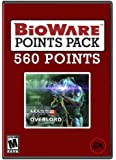 BioWare Points 560 Overlord [Online Game Code]