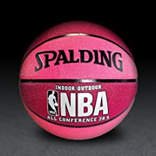 NBA All Conference Basketball - Crimson/Pink - Size 28.5
