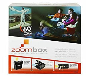 Zoombox DVD Entertainment Projector