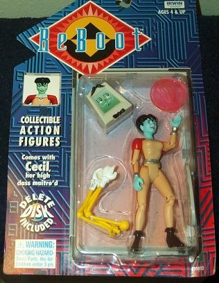 Reboot Dot and Cecil Action Figure - 1