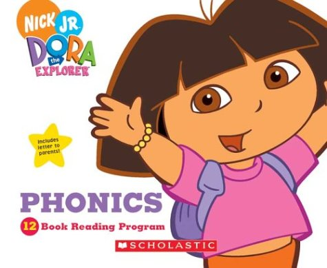 Dora Explorer Phonics: 12 Book Reading Program