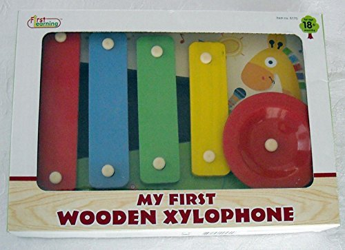 My First Xylophone Wooden Musical Baby Toy by Mon Premier - 1