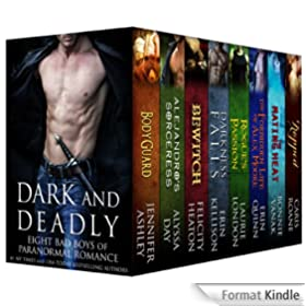 Dark and Deadly: Eight Bad Boys of Paranormal Romance (English Edition)