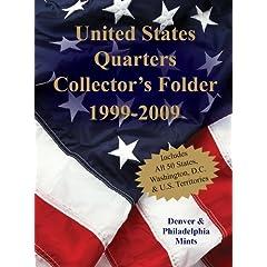 【クリックで詳細表示】United States Quarters Collector's Folder 1999-2009: Denver & Philadelphia Mints [ボードブック]