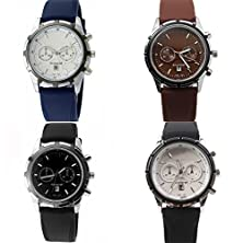 buy Amyove Mens Watches Date Original Stainless Steel Dial Rubber Sport Quartz Wrist Watch Black
