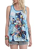 Disney Kingdom Hearts Group Girls Tank Top 2XL