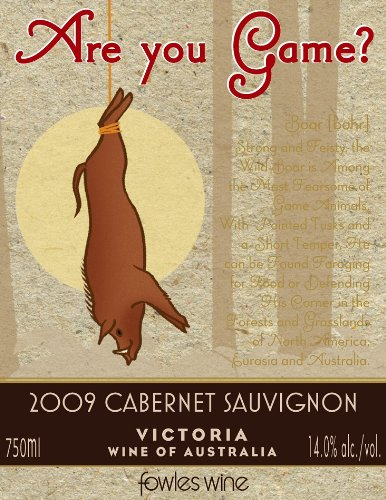 2009 Are You Game? Cabernet Sauvignon 750 Ml