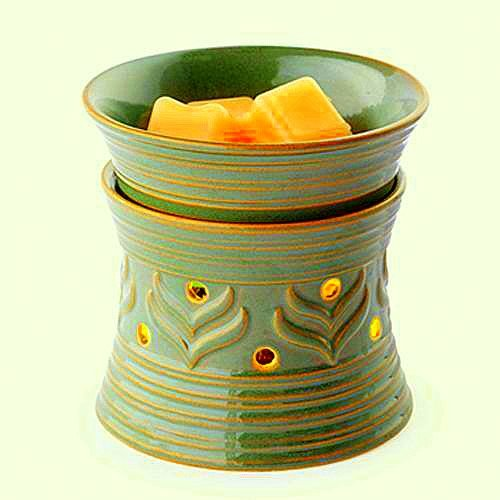 Green Electric Candle Tart Warmer Business Industrial Food