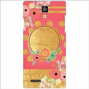 Micromax Canvas Xpress A99 Back Cover - Silicon Pink Color Designer Cases