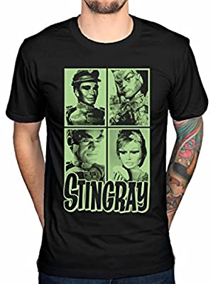 STINGRAY - Cast Members T-Shirt (Gerry Anderson Tee)