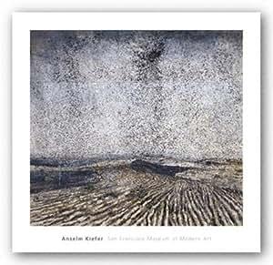 "Die Sechste Posaune (The Sixth Trumpet), 1996 by Anselm Kiefer 22""x24"" Art Print Poster"