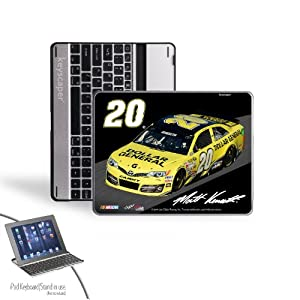 NASCAR Matt Kenseth 20 Dollar General iPad 2 3 Bluetooth Keyboard Case by Keyscaper