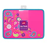 Three Cheers for Girls Neon Paisley Lap Desk