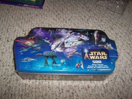 Cheap Hasbro STAR WARS MOVIE VEHICLES 500 PC JIGSAW PUZZLE IN COLLECTOR TIN (B002AV0Y76)
