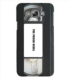 ColourCraft Retro Video Cassette Design Back Case Cover for SAMSUNG GALAXY GRAND 3