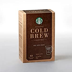 Starbucks Cold Brew Coffee Pitcher Packs Cold Brew at Home 12 Servings by Starbucks