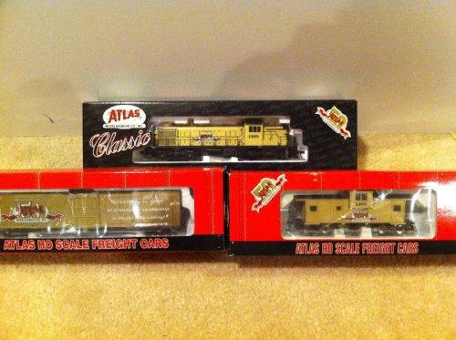 Atlas HO Train RS-3 Locomotive 50th Anniversary Set 8466 1022 1025 NEVER RUN