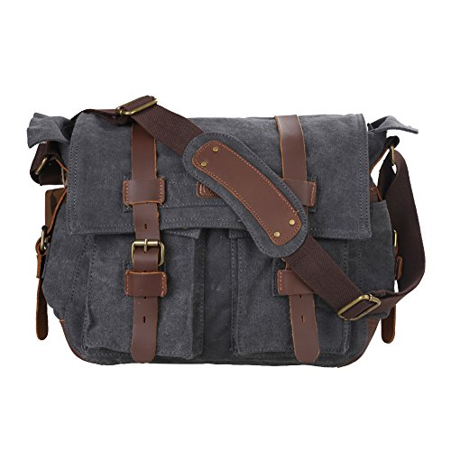 kattee-mens-canvas-cow-leather-dslr-slr-vintage-camera-shoulder-messenger-bag-dark-gray