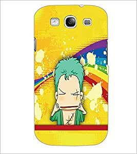 PrintDhaba Cartoon D-3338 Back Case Cover for SAMSUNG GALAXY S3 (Multi-Coloured)