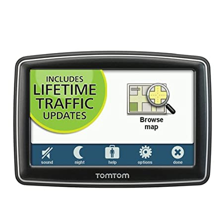 TomTom XXL 550T 5-Inch Portable GPS Navigator (Lifetime Traffic Edition)
