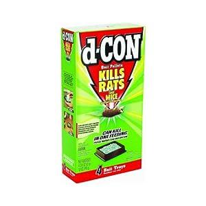 D-Con Rat & Mouse Bait Pellets - D-CON BAIT PELLETs (12oz.)