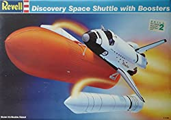 1:144 Scale Discovery Space Shuttle With Boosters Model Kit (1988)
